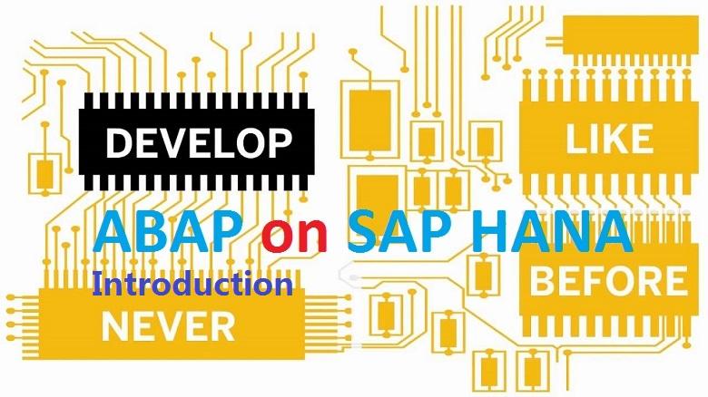 ABAP on SAP HANA  Part I  First Program in ABAP HANA - SAPYard |