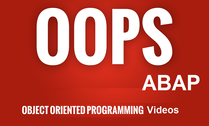 15 minutes per session Videos for ABAP Object Oriented