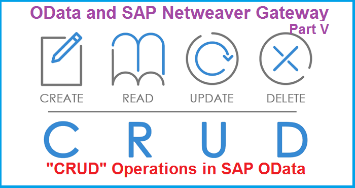 OData and SAP Netweaver Gateway  Part V  CRUD Operations in