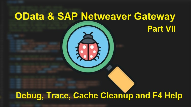OData and SAP Netweaver Gateway  Part VII  Debugging, Trace