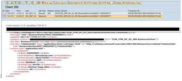 OData and SAP Netweaver Gateway  Part VII  Debugging, Trace