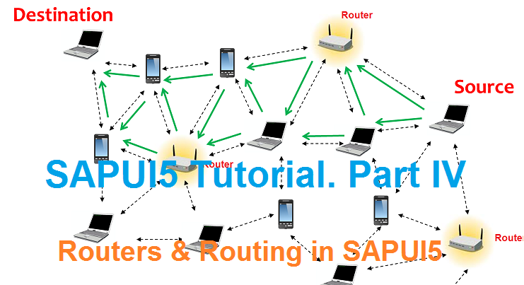 SAPUI5 Tutorial  Part IV with WebIDE  Routers and Routing in