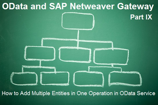 How to add multiple entities in one operation in OData? |