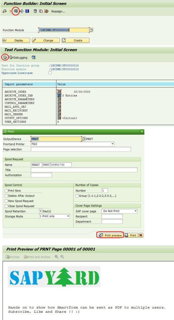 Problem while emailing SmartForm as PDF attachment?  