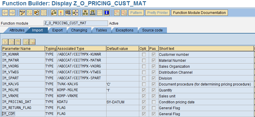 Pricing Logic for Customer and Material in SAP SD  |