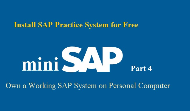 free sap server access for practice