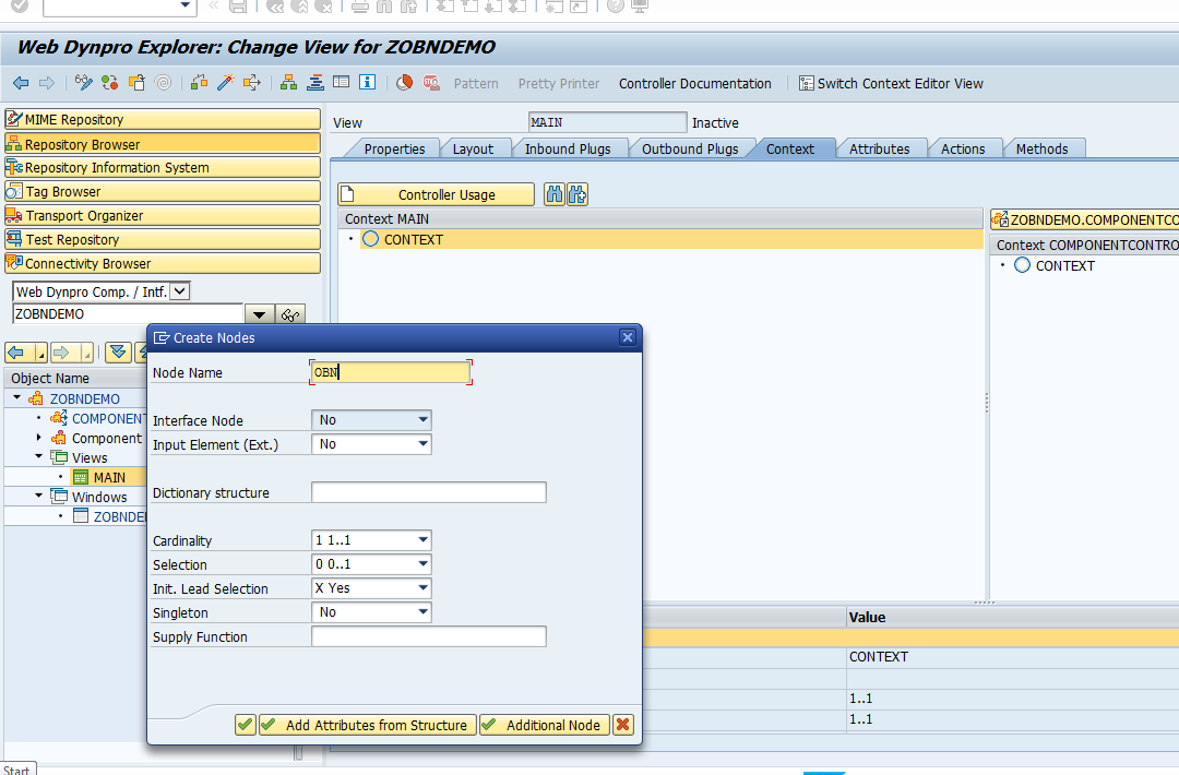 Tutorial to Save Word Doc from Web Dynpro App Using OBN |