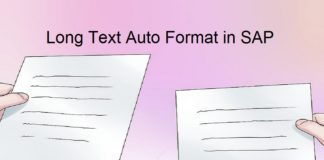 Longtext formatting issue in SAP? Did you face issue? |