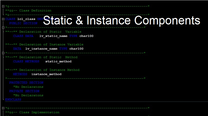 Why should we opt for Instance Method rather than Static? |