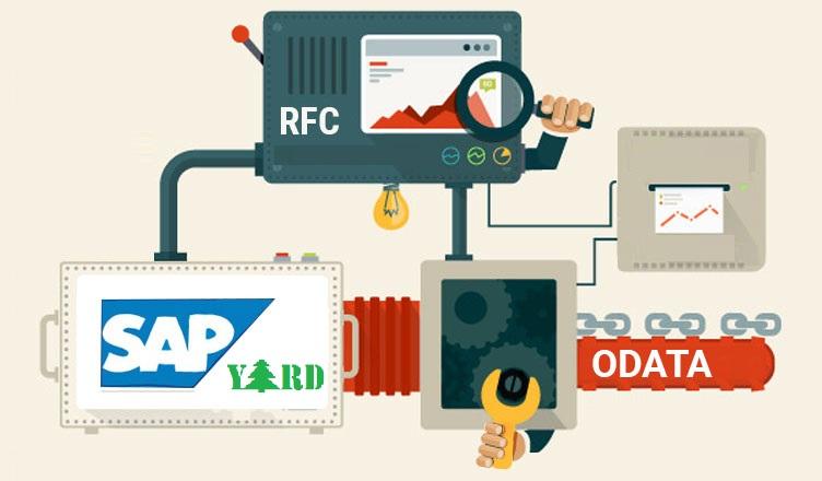 OData Service based on RFCs |