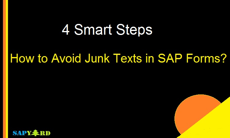 SAP Language Translation Approach to Avoid Junk Characters |