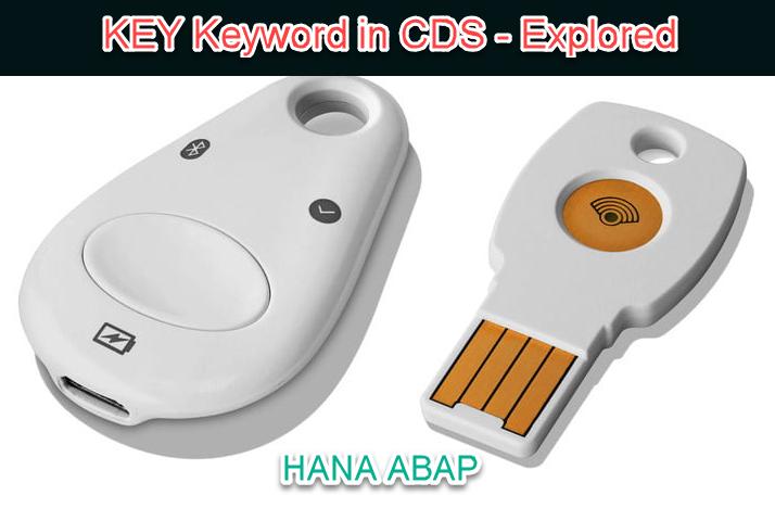 HANA CDS Key Concepts |