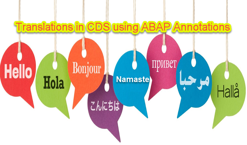 How to Translate Texts in CDS Using Annotations? |