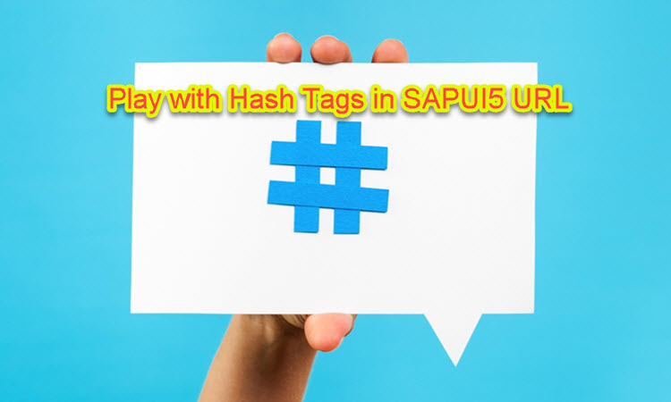 How to Handle Hashtag Changes in SAPUI5? |