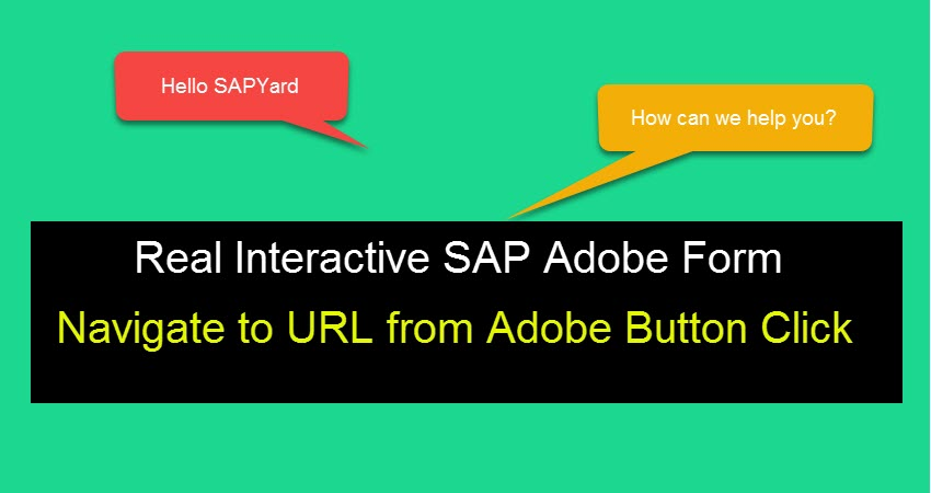 How to execute URL dynamically from a Button Click in SAP