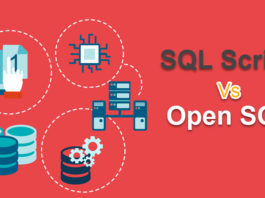Difference between Open SQL and SQL Script? |