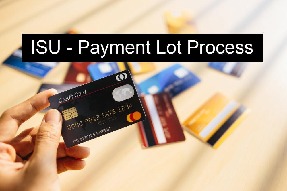 Payment Lot Process in SAP ISU Retail |