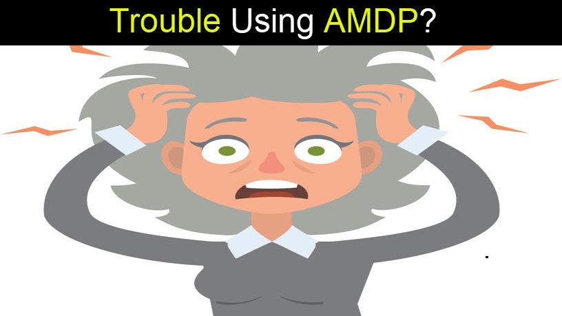 Usage of AMDP in S/4HANA Report  