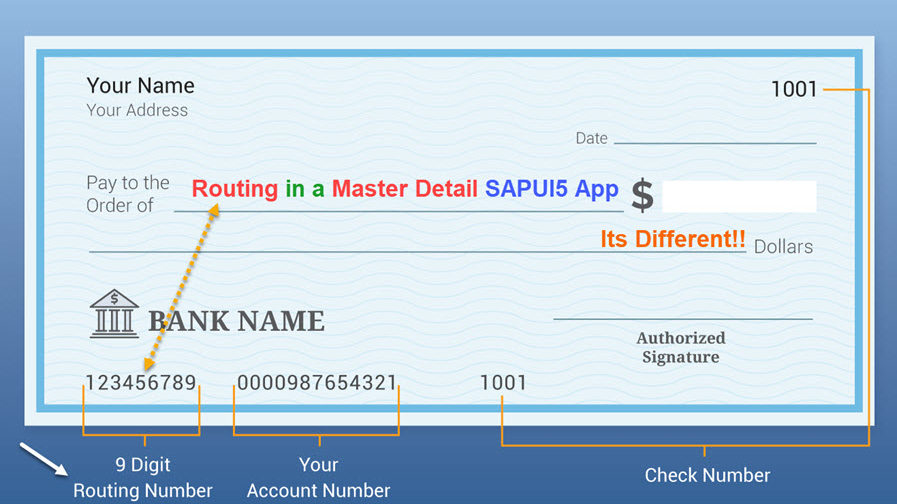 How to handle Routing in Master Detail SAPUI5 App |