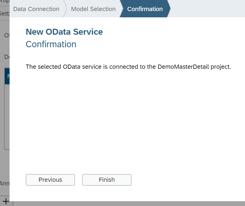 Step by Step Consumption of OData Model Data in SAPUI5 App |