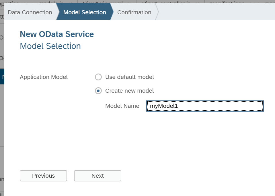Step by Step Consumption of OData Model Data in SAPUI5 App  
