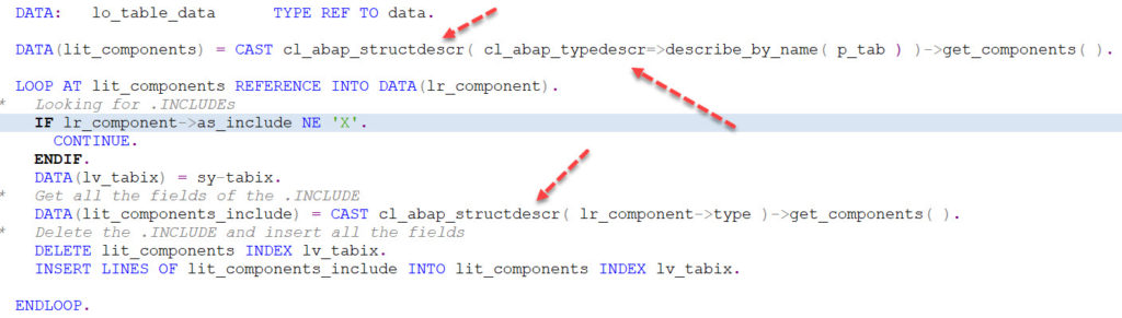 How to Create Dynamic Internal Tables in SAP ABAP 751? |